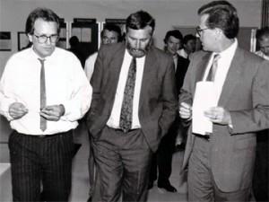 Rupert Sitz und Franz Fischler bei Delphi Automotive Systems