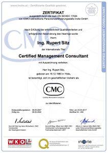 CMC Zertifikat R. Sitz 2017-2022